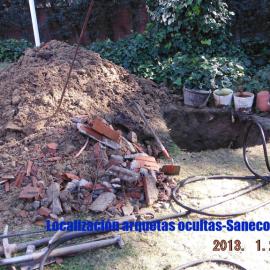 Excavación de arquetas
