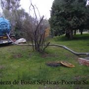 Limpieza de fosas septicas